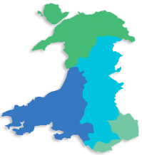 Careers Wales Map
