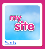 Example My Site Button